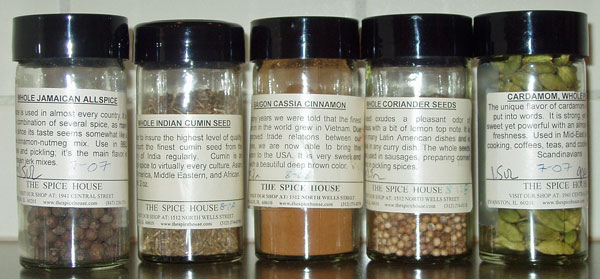 Essential spices for cooking with lamb